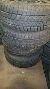 20565r15 set of 4 winter tires and rims