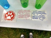 Pet awareness decals Tamaqua, 18252