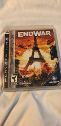 End war ps3 game