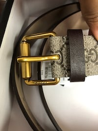 Brand New Men's Authentic Gucci King Snake Belt ( Size 40 )
