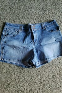 Womens old navy shorts size 14 Blue Rock, 43720