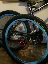 26' mtb rims and tire Toronto, M8V