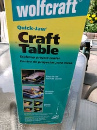 Wolfcraft craft table,  great condition. Brampton, L6V 2T9