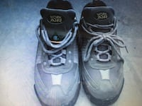 pair of black-and-gray Nike basketball shoes Mission, V2V 7R1