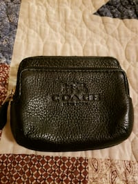 black Coach leather crossbody bag Sterling Heights, 48311