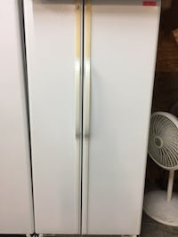 Ge white side by side Fridge