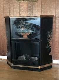 Decorative fireplace cabinet Middleburg