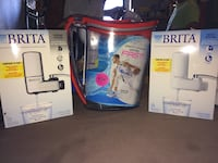 Brita pitcher and faucet system
