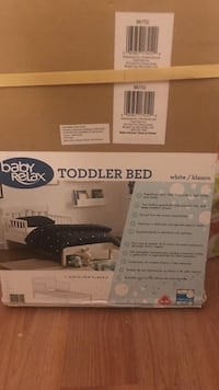 Baby relax toddler bed brand new still in the box Belchertown, 01007