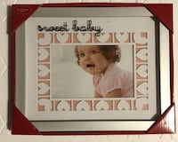 Home kids children baby picture frame new with tags $6 Manito, 61546