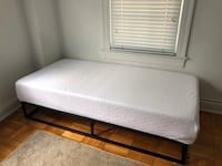 mattress and frame (twin)