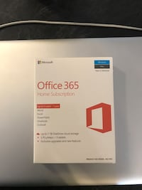 Office 365 Software - Home Subscription Edmonton, T6R 0N2