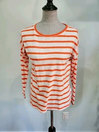 Kiara striped sweater tops size small, $5 each. Great for layering
