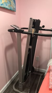black and gray automatic treadmill Falls Church, 22041