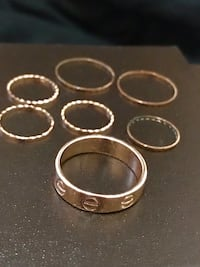 Rings stackable