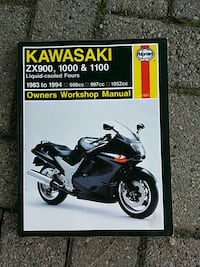 Kawasaki ZX900 manual London, N5V 4E5