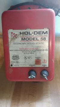 red TSC Hol-Dem Model 58 machine Clarksville, 37042