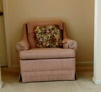 gray and white floral sofa chair Hinsdale, 60521
