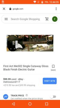 First act electric guitar  Des Moines, 50309