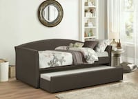 Agena Brown Daybed with Trundle Bladensburg