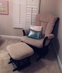 Baby Reclining Glider And Ottoman  (dutailier) Ashburn