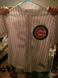 white and black Chicago Cubs jersey Pekin, 61554