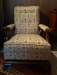 Antique Reclining Armchair Châteauguay