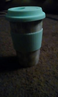 green and gray plastic container