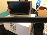 Tv, speaker, and sound bar. Great condition!  Montoursville, 17754