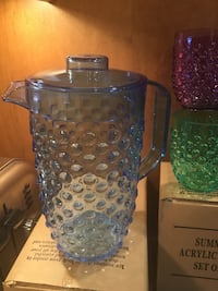 NEW 1 Pitcher and 8 small glasses St. Louis Park, 55426