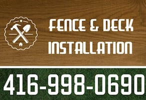 Fence and Deck Install