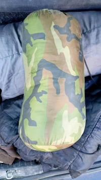 Sleeping bag-army style winter Clichy, 92110