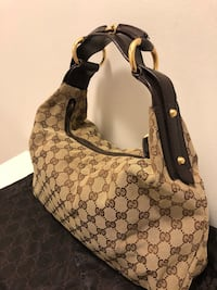 Gucci medium horsebit hobo.