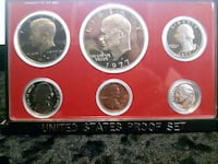 1977 Proof Set USA Sherwood Park, T8H 2G3