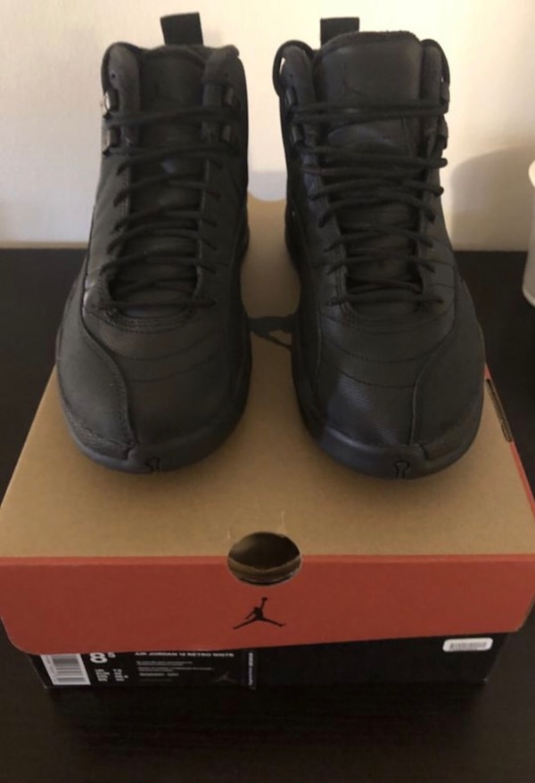 best service dda99 4b0ae Jordan 12 winterized black Men's 8.5