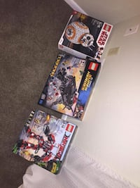 Three Lego's for kids unopened