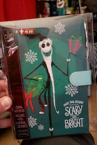 The Nightmare Before Christmas journal w pen Dundalk, 21222