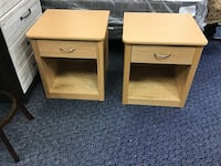 Pair Of Lightwood Nightstands Virginia Beach, 23462