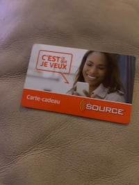 The source gift card 94 left on it Toronto, M1P 4S9