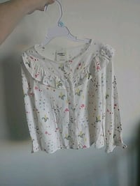 white and pink floral button-up shirt Phoenix, 85021