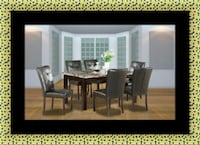 5pc dining table set with 4 chairs Greater Landover