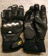 Klim Waterproof Gore-Tex leather gloves