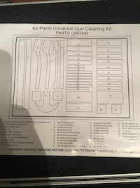 Winchester new in case gun cleaning kit