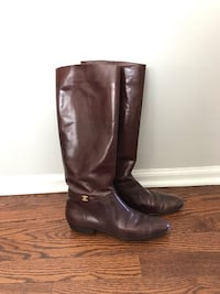 Salvatore Ferragamo vintage riding boots 8.5