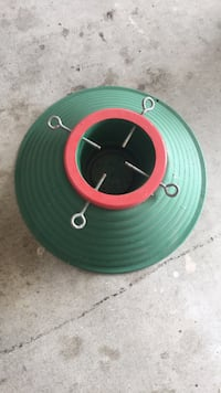 green and red plastic container 2237 mi