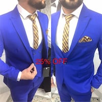 men's blue suit jacket Vaughan, L4L 5W2
