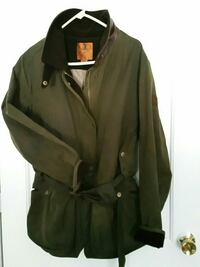 Women's XXL Waxed Cotton Coat Henniker, 03242