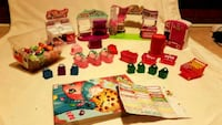 4 complete Shopkins set and many accessories  York Regional Municipality, L7E 5R7
