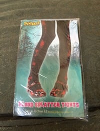 Blood splatter tights Halloween costume Los Angeles, 91344