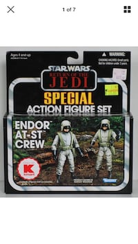 Star Wars Vintage Collection Endor At-St Crew Coquitlam